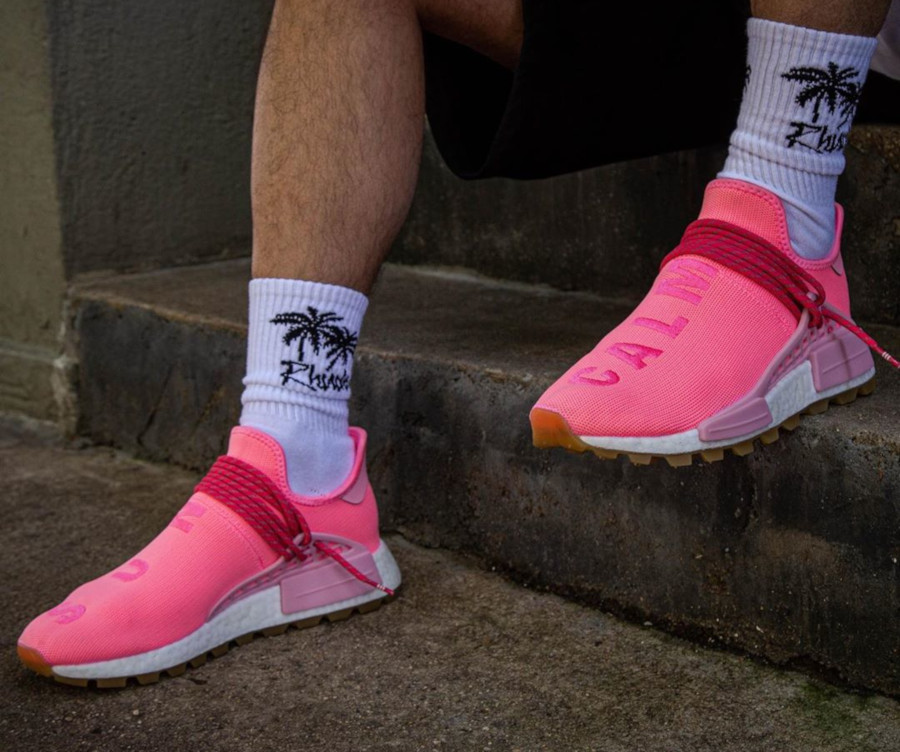 Adidas NMD HU rose Hyper Pop Light Pink Gum EG7740 (4)