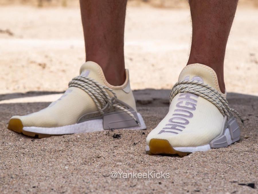 Adidas NMD HUman Race Cream White Gum EG7737 (2)