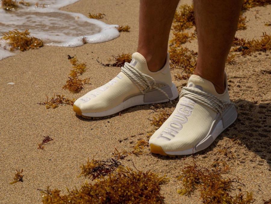 Adidas NMD HUman Race Cream White Gum EG7737 (3)