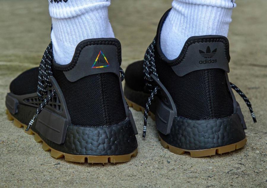 Adidas NMD Human Race Black Gum EG7836 (2)