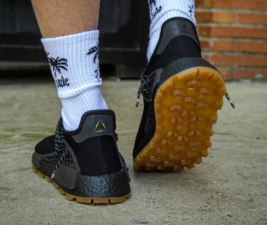 Adidas NMD Human Race Black Gum EG7836 (3)