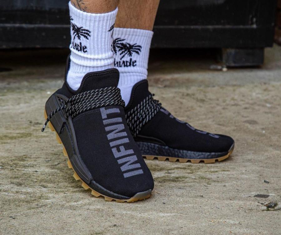 Adidas NMD Human Race Black Gum EG7836 (4)