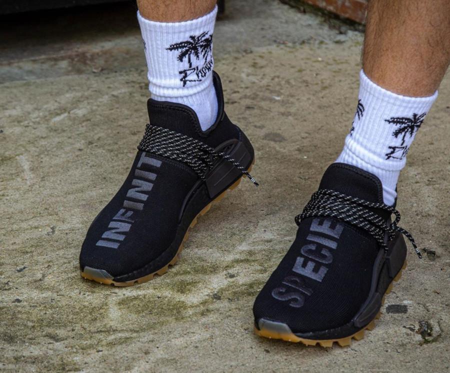 Adidas NMD Human Race Black Gum EG7836 (6)
