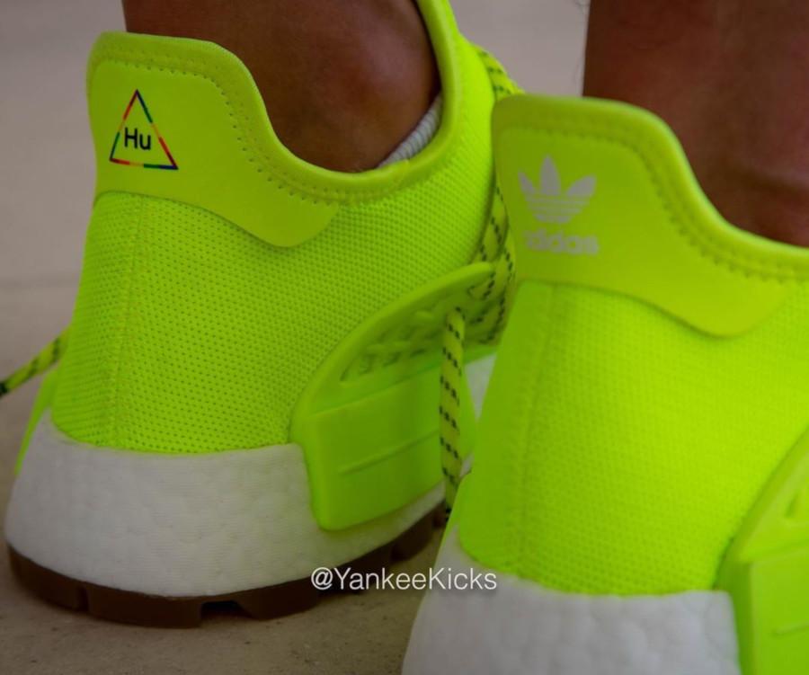 Adidas NMD Human Race jaune fluo Solar Yellow Gum EF2335 (1)