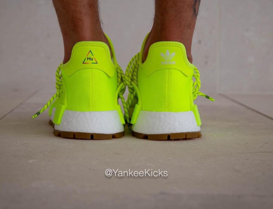 Adidas NMD Human Race jaune fluo Solar Yellow Gum EF2335 (6)