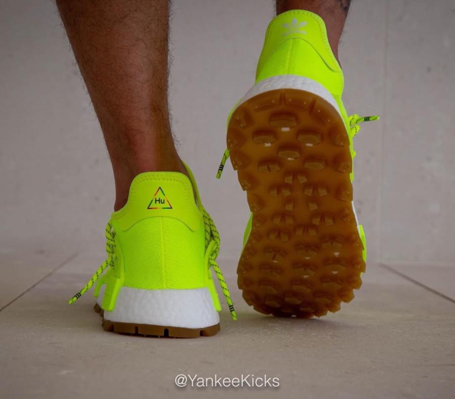 Adidas NMD Human Race jaune fluo Solar Yellow Gum EF2335 (7)