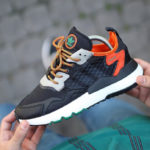 Adidas Nite Jogger Cordura 'Core Black Grey Six Orange'