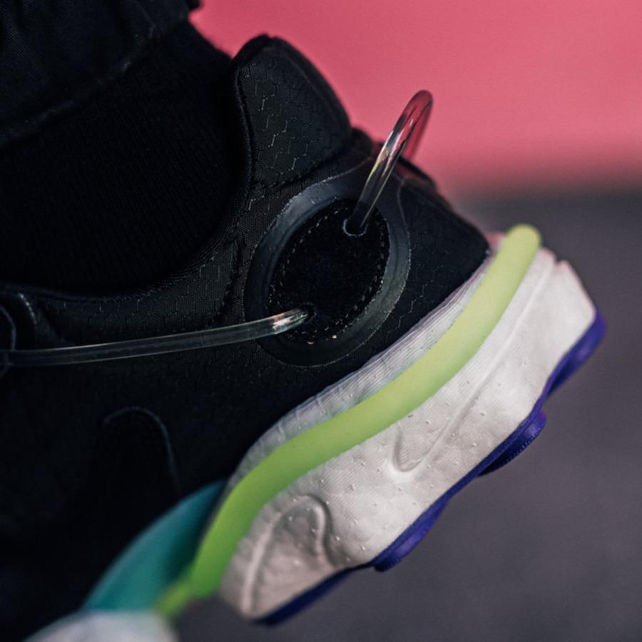Adidas Originals Torsion X noire grise et jaune (4)