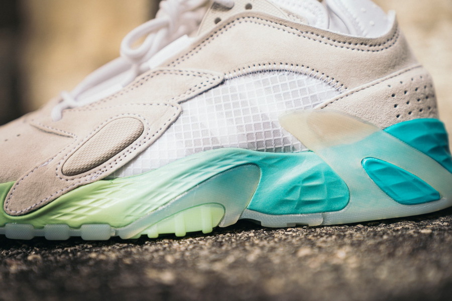 Adidas Streetball grise et turquoise (1)