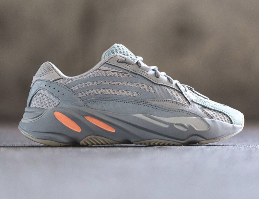 Adidas Yeezy boost 700 version 2 grise et orange (4)
