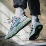 Adidas ZX 4000 4D 'I Want I Can' Grey One Solar Red