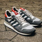 Adidas ZX 500 OG Grey Red Retro 2019 (Size? Exclusive)