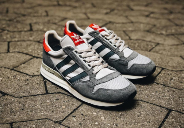 Adidas ZX 500 OG Grey Red 2019 Exclusivité Size