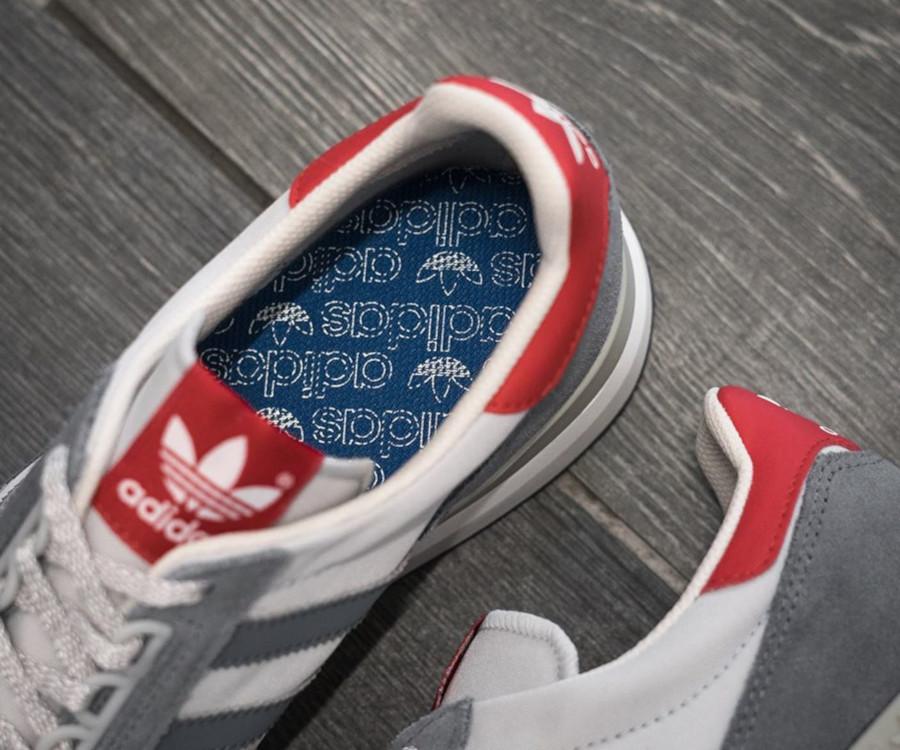 Adidas ZX500 OG grise et rouge (septembre 2019) (1)