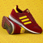 Size? x Adidas ZX 500 Maroon Yellow (Back From The Archives)
