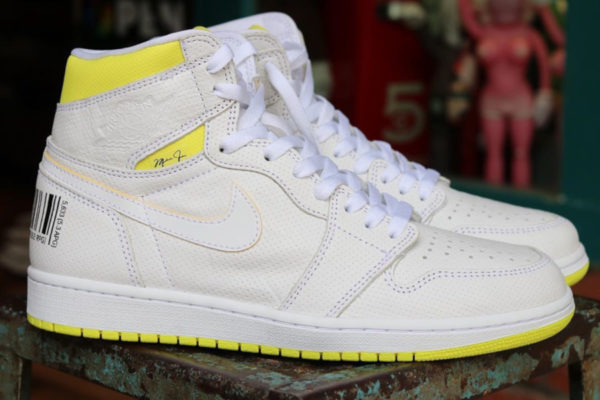 Air Jordan 1 'Barcode' First Class Flight 555088-170