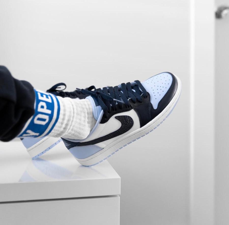 Air Jordan 1 Retro Low UNC Blue Chill - @jennizerr