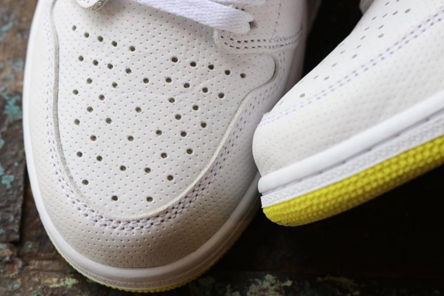 Air Jordan 1 blanche et jaune (septembre 2019) (4)