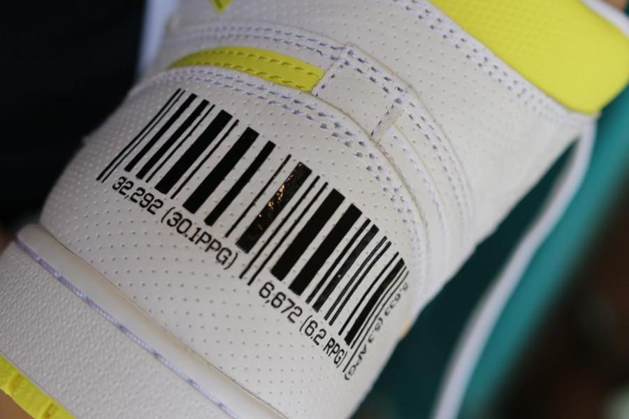 Air Jordan 1 blanche et jaune (septembre 2019) (6)