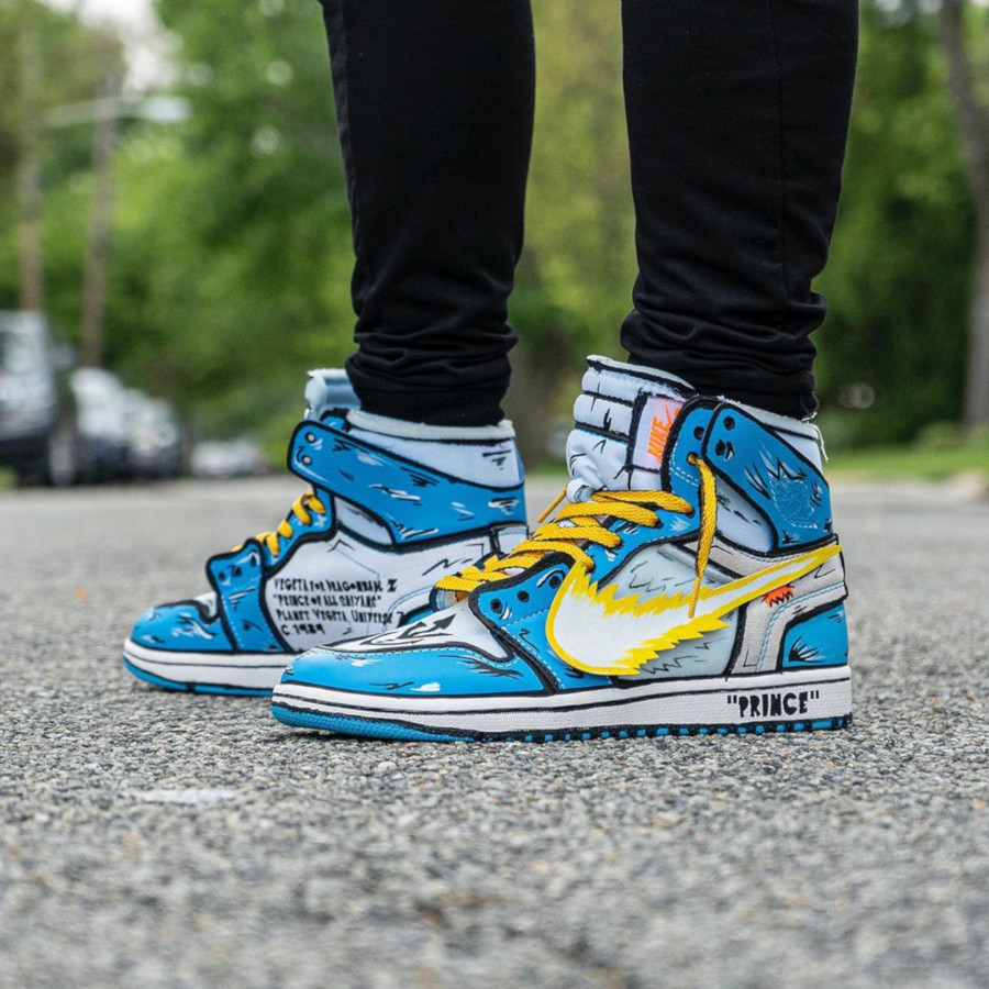 Air Jordan 1 vegeta - @stompinggroundcustoms