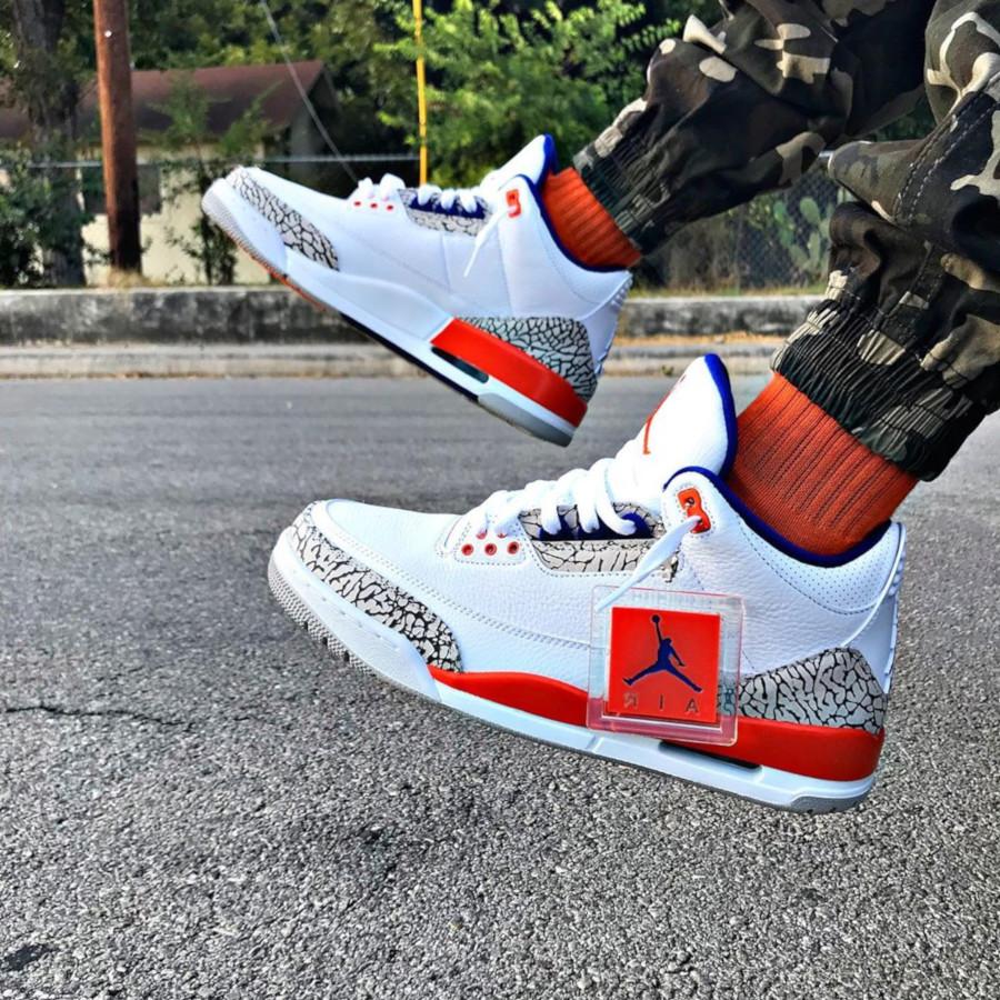 Air Jordan 3 Retro Knicks - @jayy_banks