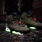 Travis Scott x Air Jordan 6 Retro 'Medium Olive'