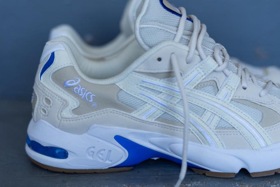 Asics Gel Kayano 5 OG beige blanche et bleue (2)