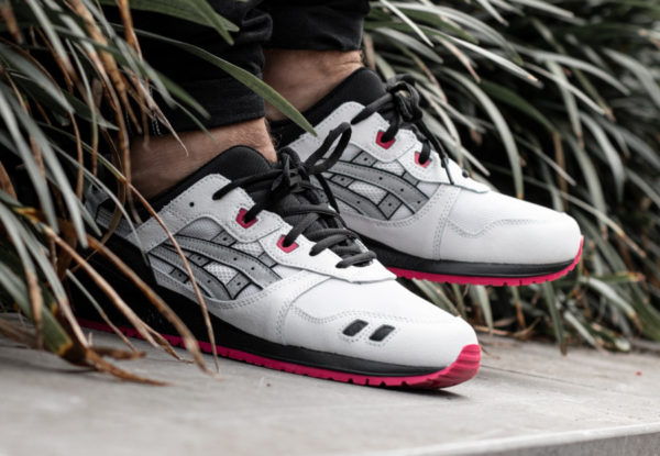 Asics Gel Lyte 3 White Piedmont Grey Pink 1191A245-100