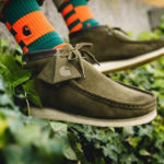 Carhartt x Clarks Wallabee Boot 'Olive Camo'