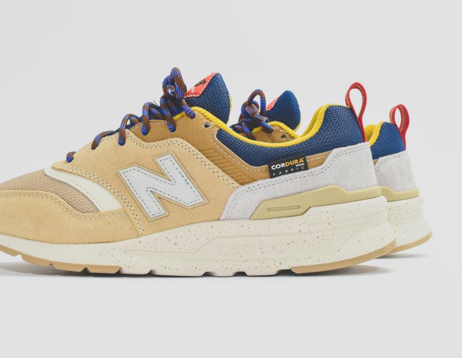 New Balance 997H beige marron et bleue 738011-60-9 (2)