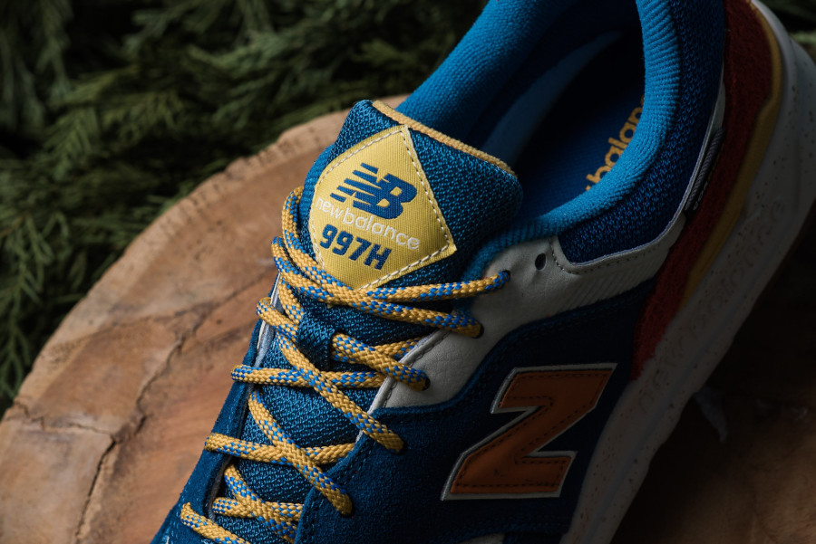 New Balance 997H bleue orange et jaune (2)