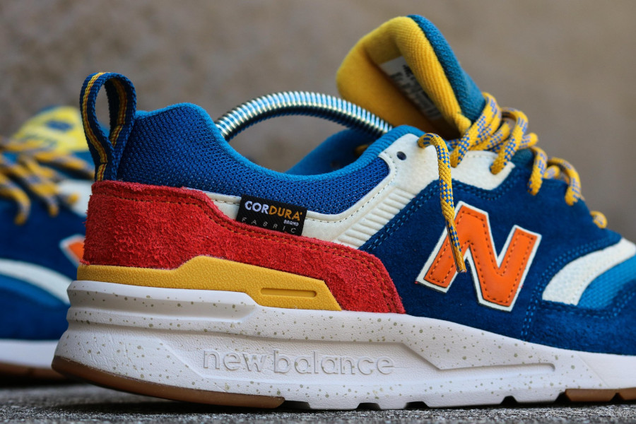 New Balance 997H bleue orange et jaune (4)