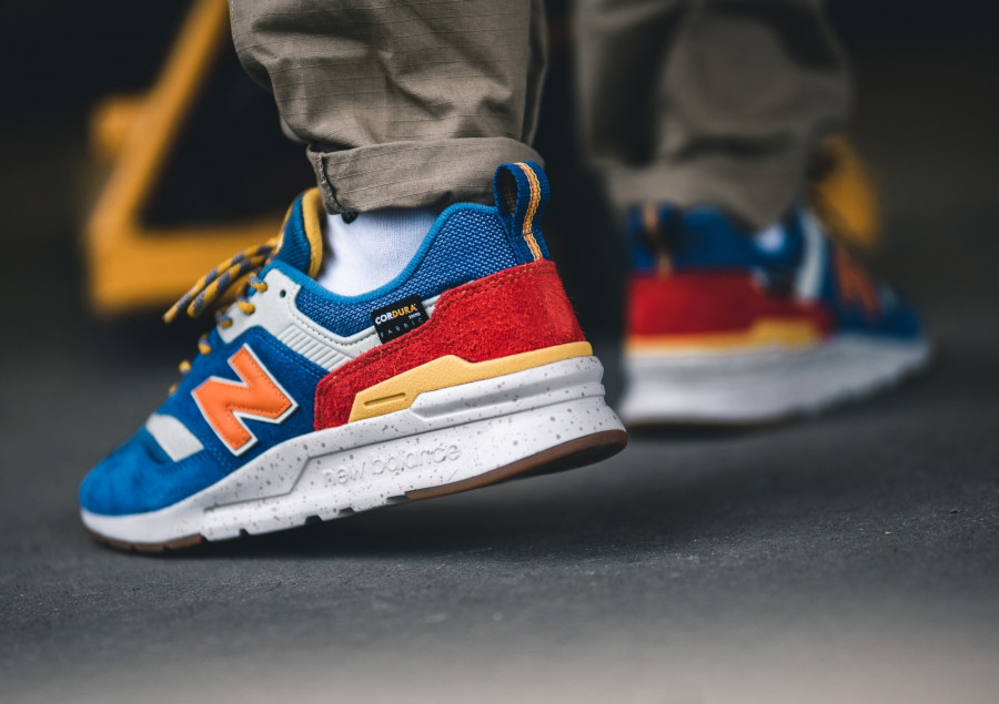 New Balance 997H bleue orange et jaune (5)