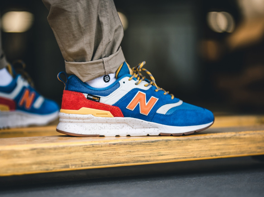 New Balance 997H bleue orange et jaune (6)
