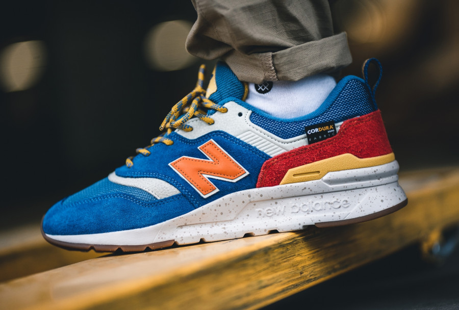New Balance 997H bleue orange et jaune (7)