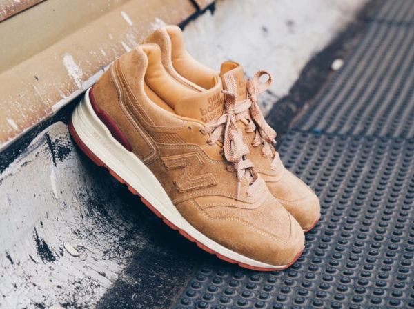 New Balance M997RW Red Wing Tan (made in USA)