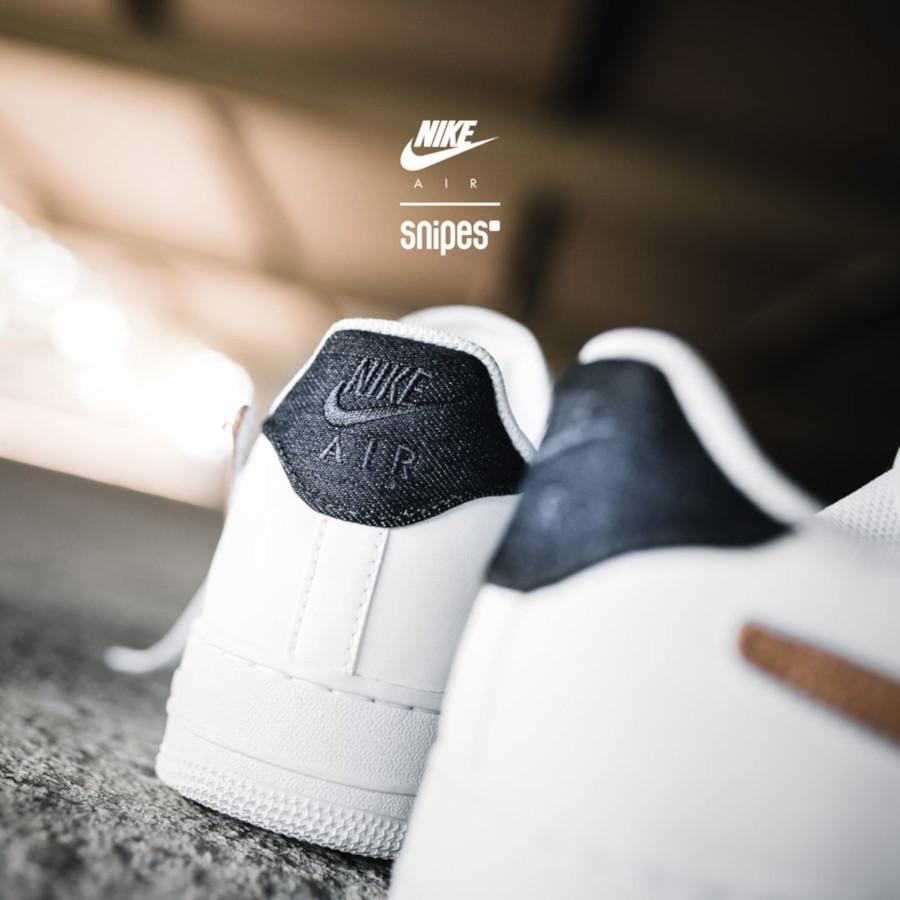 Nike AF1 blanche et beige CT2253-100 (1)