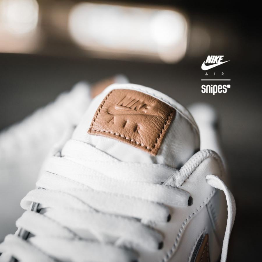 Nike AF1 blanche et beige CT2253-100 (2-1)