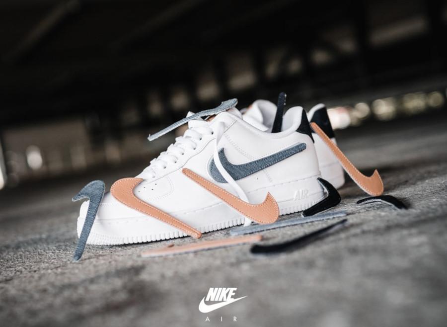 Nike AF1 blanche et beige CT2253-100 (3)