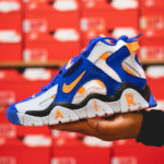 Nike Air Barrage Mid 'Laser Orange Racer Blue'