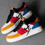 Nike Air Force 1 '07 Premium 'Patchwork' Sail Black Imperial Blue