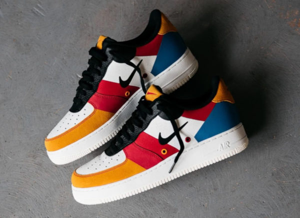 Nike Air Force 1 07 PRM Patchwork Multicolor CI0065-101