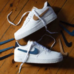 Nike Air Force 1 '07 LV8 'Removable Swoosh' White Vachetta Tan Denim