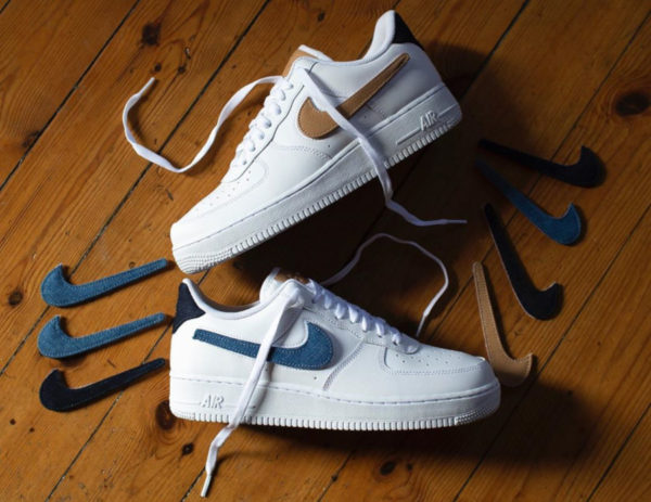Nike Air Force 1 '07 Removable Swoosh CT2253-100
