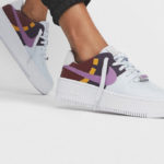 Nike Womens Air Force 1 Sage Low LX 'Basketball Court'