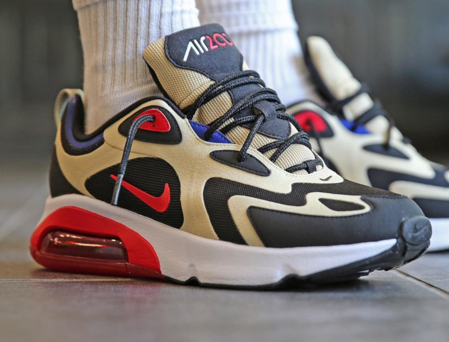 air max 200 homme rouge