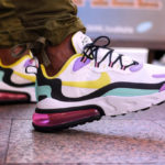 Nike Air Max 270 React 'Geometric Abstract' Dynamic Yellow Bright Violet