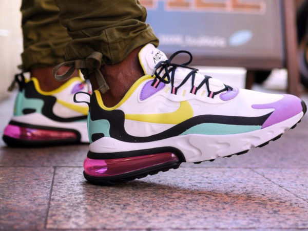 Nike Air Max 270 React Geometric Art Abstract AO4971-101