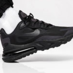 Nike Air Max 270 React 'Hip Hop' Triple Black (Music Pack)