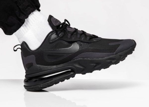 Nike Air Max 270 React Hip Hop Triple Black AO4971-003